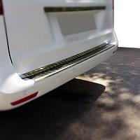 Mercedes Vito 2014 Накладка на задний бампер глянцевая, фото 1