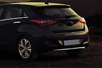 Hyundai I30 2012 Накладка на задний бампер нижняя)