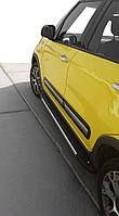 Fiat 500L Боковые подножки Duru