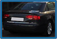 Audi A4 2008 Кромка багажника (sedan, нерж.)