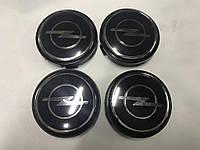 Opel Колпачки V2 в титановые диски 55,5 мм под стеклом