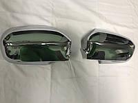 Honda Civic 2001-2006 Накладки на зеркала (2 шт, пласт.)