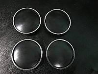 Toyota Колпачки в титановые диски V2 55мм черные 3D