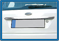 Ford Fiesta Накладка над номером на крышку багажника OmsaLine, фото 1