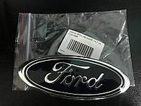 Ford Fiesta 2002-2008 Эмблема Ford самоклейка, 95мм на 38мм
