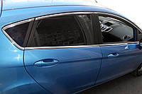 Ford Fiesta 2008-2017 Верхние молдинги стекол (8 шт, нерж)
