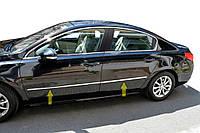 Молдинг дверей (нерж) для Peugeot 508 2010-2018 гг.