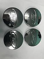Ford Колпачки Хром под оригинальные диски 68,5 мм на 50 мм