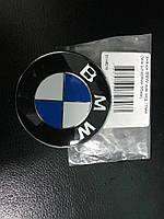 BMW F32 эмблема 74мм (турция) на штырях