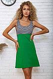 Платье 167R267 цвет Зелено-черный, фото 4