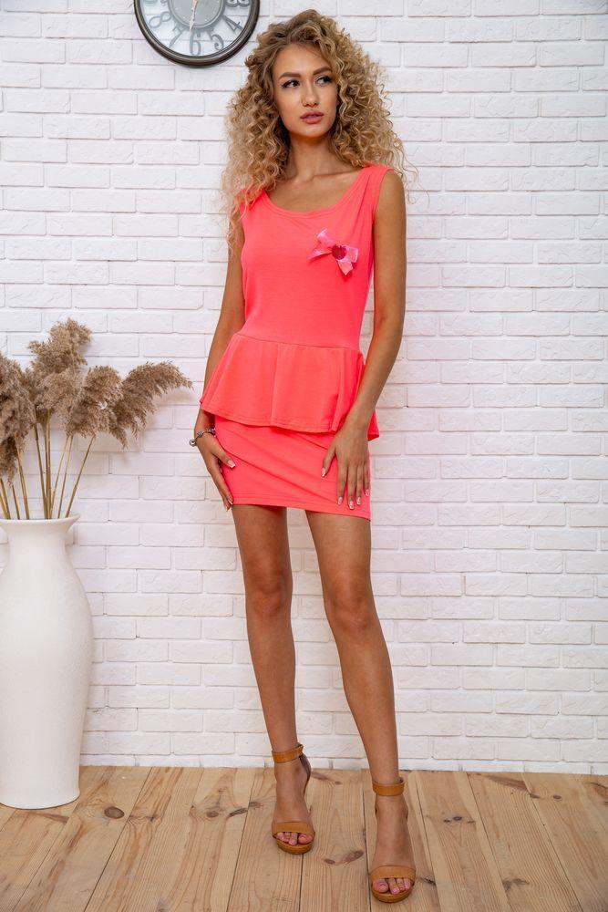 Сукня 167R212 колір Рожевий