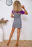 Сукня 167R210 колір Фіолетово-чорний, фото 3