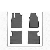 Fiat 500L резиновые коврики Stingray Premium