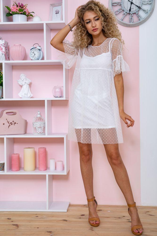 Сукня 167R1230 колір Білий
