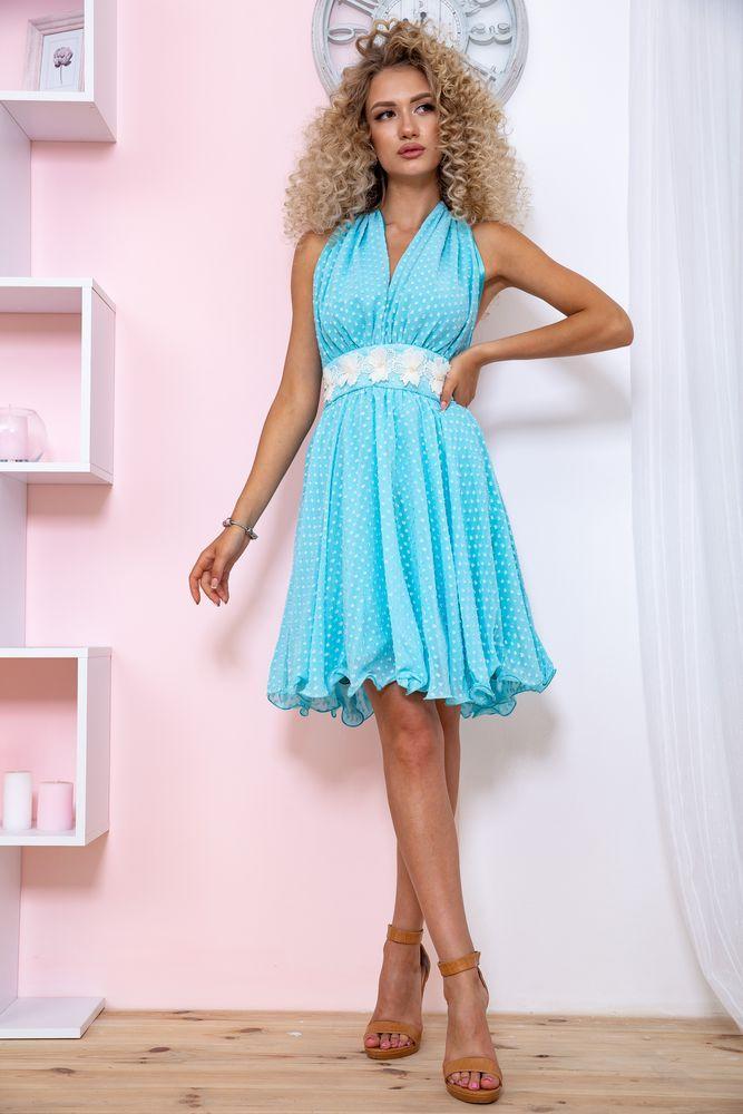 Платье 167R892 цвет Голубой