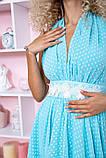 Сукня 167R892 колір Блакитний, фото 5