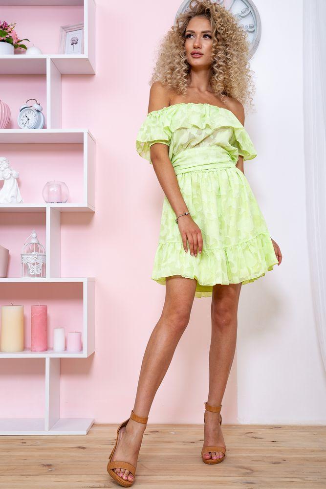 Платье 167R900-2 цвет Салатовый