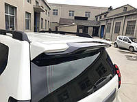 Toyota Prado 150 Спойлер вставка (поверх рідної) білий