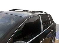 Рейлінги Skyport (чорний мат) для Porsche Cayenne (2003-2010), фото 1