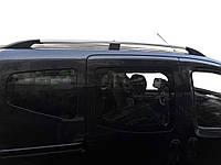 Рейлінги ХРОМ (2009-2012) пластикові ніжки для Nissan NV200 2009↗ рр., фото 1