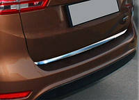 Кромка багажника (нерж) Sedan, Carmos - Турецька сталь для Fiat Tipo 2016↗ рр.