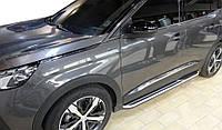 Peugeot 3008 2016-2021 Боковые пороги OEM V1