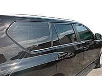 Toyota Prado 150 Рейлінги Lexus-дизайн (2 шт, сірі)