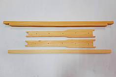 Рамка для ульев Дадан (10 шт/компл) Сосна Высшего Сорта, с еврозамками, с разделителям Гофмана, с отверстиями