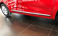 Renault Clio V Накладки на дверной молдинг (нерж)