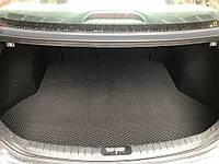 Hyundai Elantra 2015-2021 Килимок багажника (чорний, EVA, поліуретановий)
