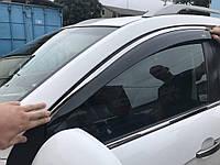 Opel Astra K Ветровики с хромом Niken