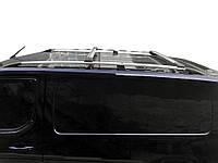 Citroen SpaceTourer Перемычки на рейлинги под ключ Черный