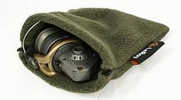 Флисовый чехол-мешок для катушки LeRoy Олива L