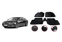 Opel Insignia 2010-2017 Резиновые коврики (4 шт, Niken 3D)
