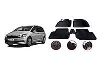 Volkswagen Touran 2015-2021 Резиновые коврики (4 шт, Niken 3D)