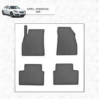Opel Insignia резиновые коврики Stingray Premium (передние)