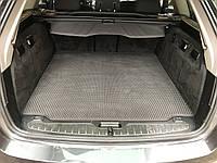 BMW F11 SW 5 серия Коврик багажника (EVA, черный)