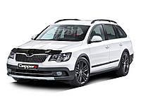 Skoda Superb 2013-2015 Дефлектор капота EuroCap