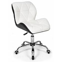 Крісло Bonro B - 531 біле+чорне