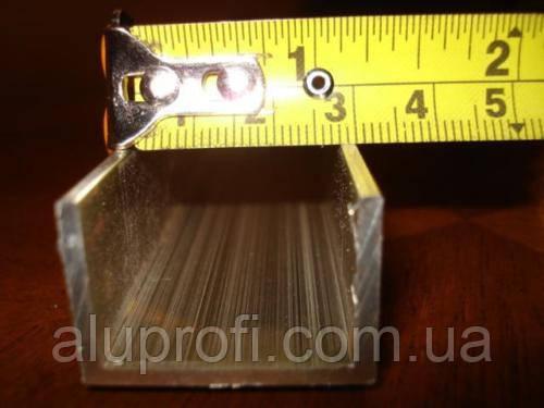 Швеллер алюминиевый 30х20х1,5 мм