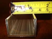 Швеллер алюминиевый 30х20х1,5 мм, фото 1