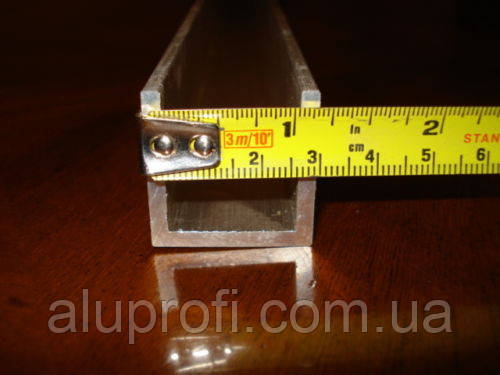 Швеллер алюминиевый 100х50х5мм анод