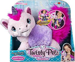 РАСПРОДАЖА!!!Twisty Petz Игрушка-браслет плюшевый Единорог Твисти Петс Snowpuff Unicorn Transforming