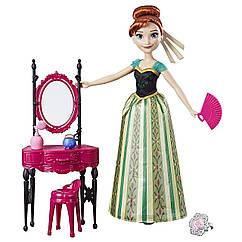 УЦЕНКА!!! Кукла Анна с туалетным столиком Disney Frozen Anna and Coronation Vanity