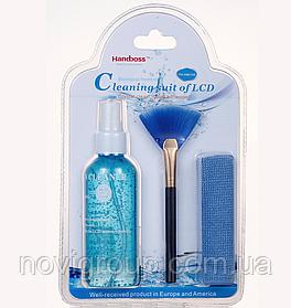 Універсальний чистячий набір Handboss FH-HB010E 3в1 (Спрей, пензлик, мікрофібра)
