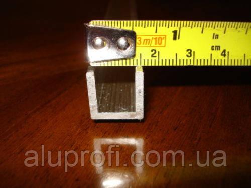 Швеллер алюминиевый 15х15х2,0 мм