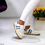 Люксовые комбинированные женские кроссовки кеды на шнуровке 36-23 37-23,5 38-24 см, фото 5
