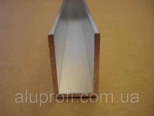 Швеллер алюминиевый 20х40х2 мм