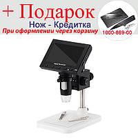 Мікроскоп з дисплеєм USB для ремонту цифрової 1000X Чорний