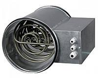 Электронагреватели канальные круглые НК 125-2,4-1, Вентс, Украина